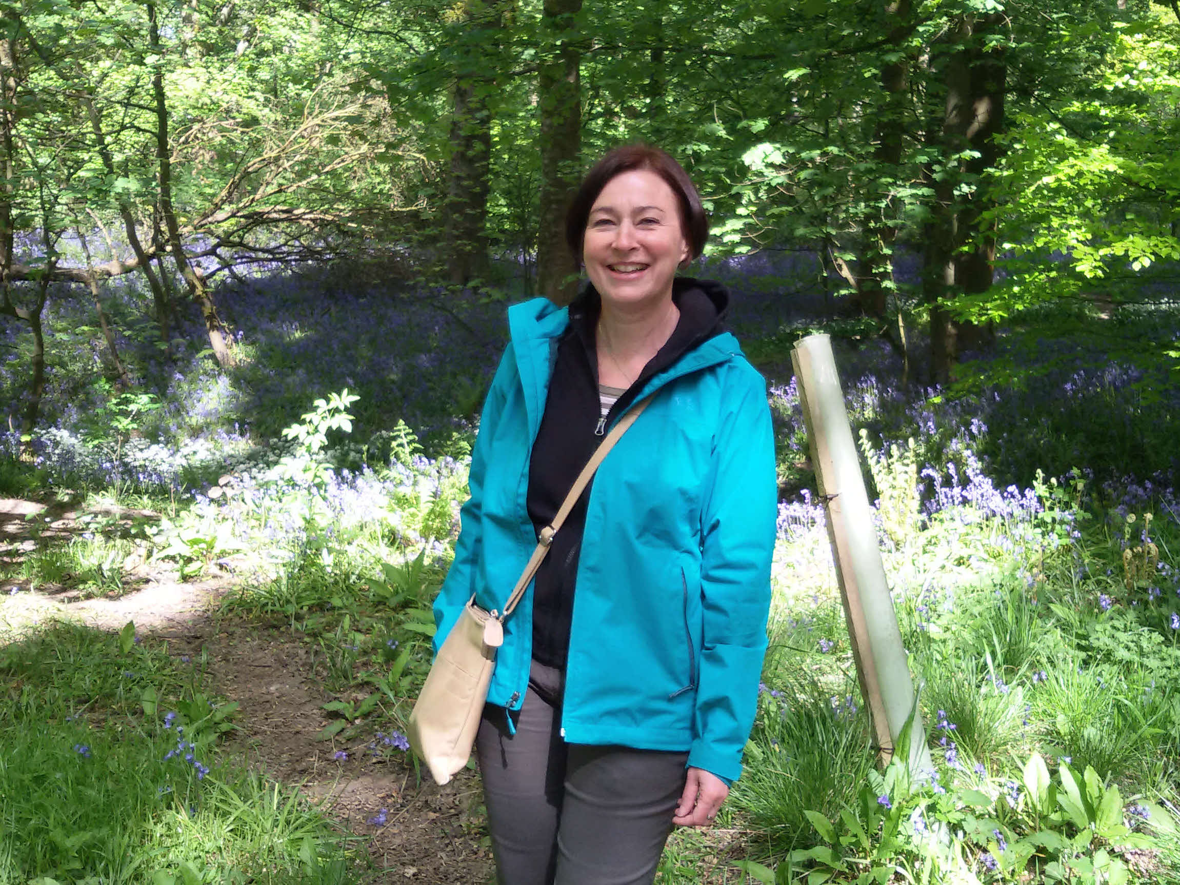 Sue in Spring Wood