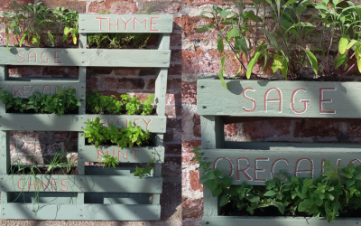 How to make a recycled Pallet Planter